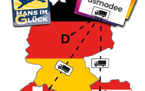 Hans im Glück社、2019年からAsmodee社と販売提携開始!