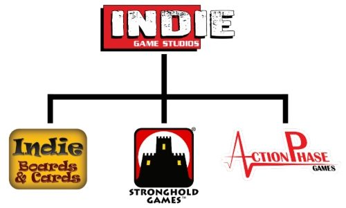 「Stronghold Games」と「Indie Boards & Cards」が合併!「Indie Game Stdudios」を創設!!