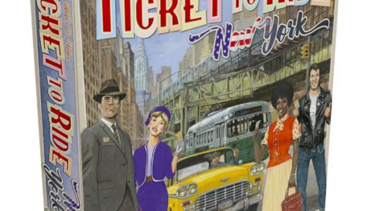 大人気「チケット・トゥ・ライド」シリーズのお手軽版、「チケット・トゥ・ライド:ニューヨーク」多言語版ホビージャパンより発売決定!