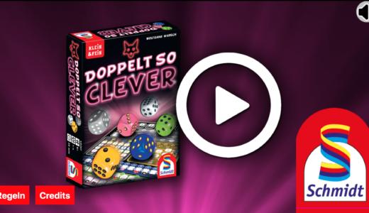人気ロールアンドライトゲーム「ガンツ・シェーン・クレバー」の続編新作『Doppelt So Clever』の無料WEBアプリとスマホアプリがリリース!
