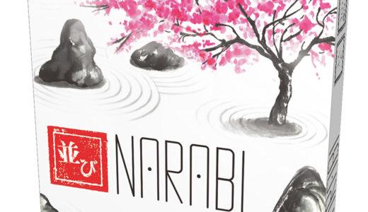 庭師になって、石庭を完成させる協力カードゲーム!『NARABI/並び 日本語版』1月下旬発売!!