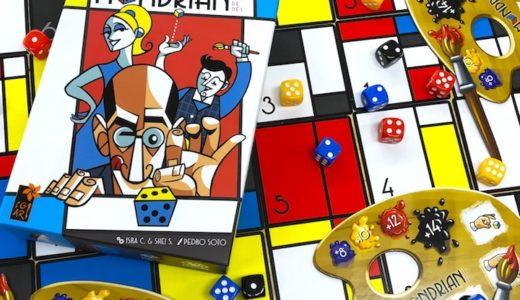 JELLY JELLY GAMESの新作「モンドリアン」が発売