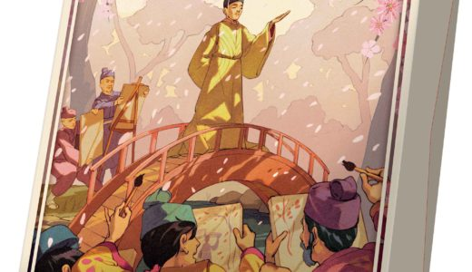 絵師として天子さまになるべく近づくことを目指す戦略ゲーム!『ライナー・クニツィアのSAKURA 完全日本語版』3月14日発売!!