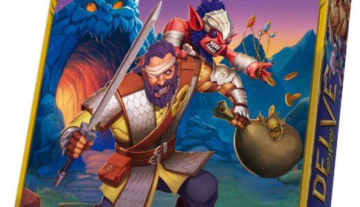 タイル配置と没入感のあるストーリーテリングが一体となった大冒険ゲーム!『デルヴ 完全日本語版』発売!!