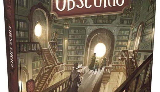 魔法の図書館を舞台にした協力型連想ゲーム!『OBSCURIO(オブスクリオ)多言語版』発売!!