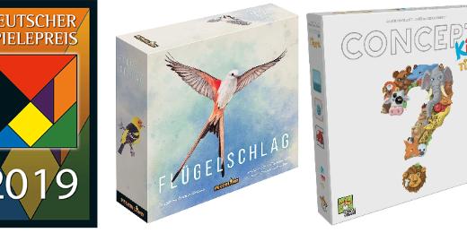 【ドイツゲーム賞2019】『ウイングスパン』が大賞!『コンセプトキッズ:アニマル』がキッズ賞を受賞!