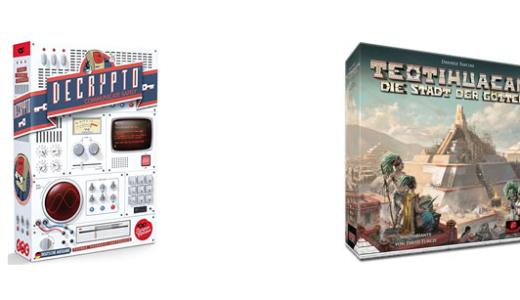 ドイツメンサが選ぶボードゲーム賞『MinD2020』受賞作発表!『デクリプト』『テオティワカン』が選ばれる