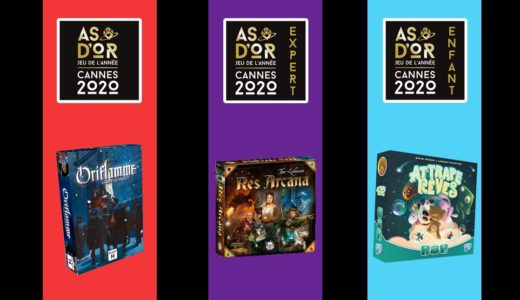『レス・アルカナ』『オリフラム』がフランス年間ゲーム賞2020を受賞!