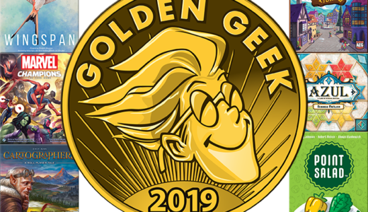 Board Game Geekユーザーが決めるゲーム賞「Golden Geek Award 2019」大賞作発表!『ウイングスパン』がBoard Game of the Yearを受賞!!