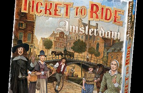 17世紀オランダ・アムステルダムが舞台のシリーズ最新作『Ticket to Ride: Amsterdam』発売決定!