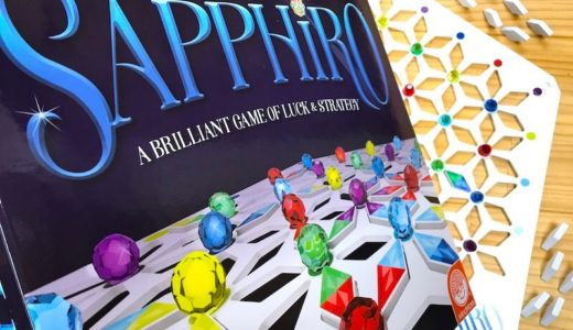 キラキラ輝く宝石を集めよう。家族で遊べるボードゲーム「サフィーロ」国内流通開始!