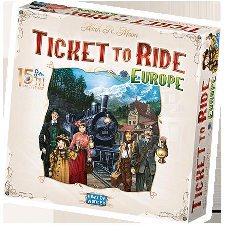 チケット・トゥ・ライド ヨーロッパ:15周年記念版