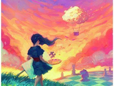キャンバス 日本語版 3月18日発売!真っ白なキャンバスを自分の色に染め上げて、自分だけのの絵を完成させるゲーム